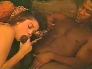 Vintage wild interracial sex with white wife...